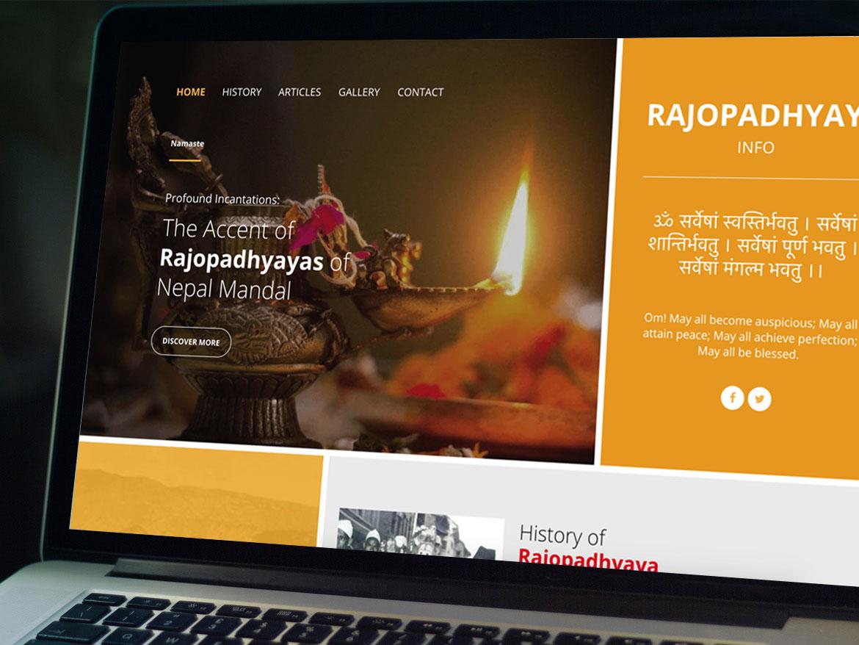 Rajopadhyaya Community